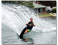 Water Skiing Florida Lakes